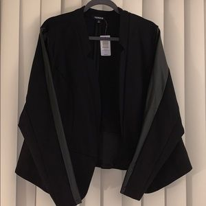 Torrid blazer with sleeve accents - NWT
